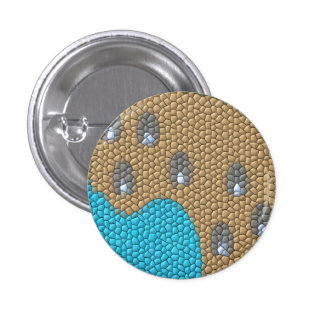 Painting mosaic buttons