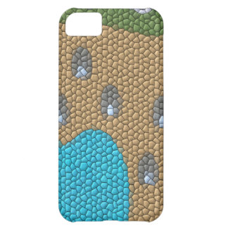 Painting mosaic cover for iPhone 5C