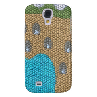 Painting mosaic galaxy s4 cover