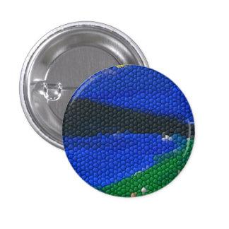 Painting mosaic tiles pinback buttons