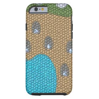 Painting mosaic tough iPhone 6 case