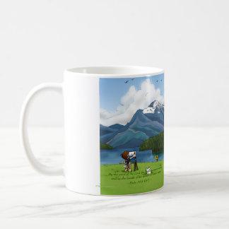 Painting Mountains Mug