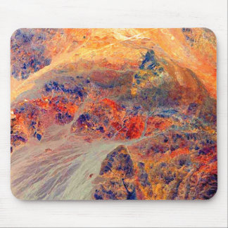 Painting: Mountains & Waterfall: Mouse Pad