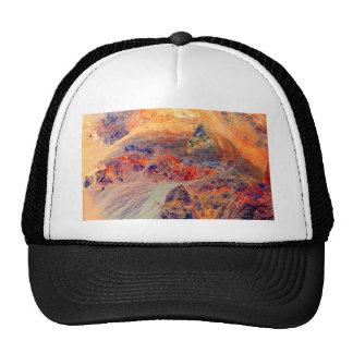 Painting: Mountains & Waterfall: Trucker Hat