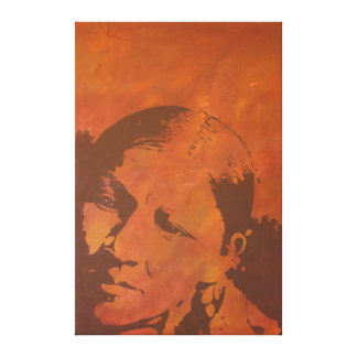 """Painting of a Cayuse woman entitled """"Be Curious"""". Canvas Print"""