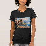 Painting Of A Fancy European Villa T Shirts