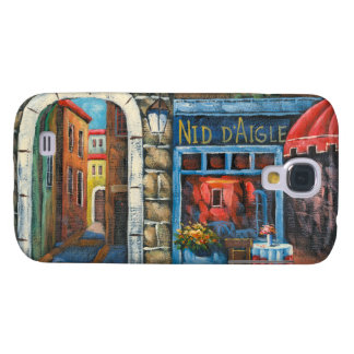 Painting Of A French Restaurant Galaxy S4 Cover
