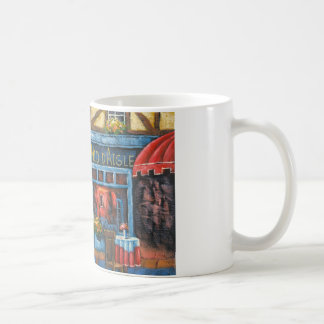 Painting Of A French Restaurant Classic White Coffee Mug