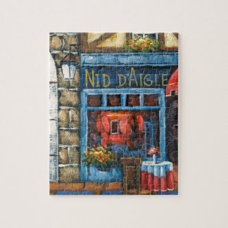 Painting Of A French Restaurant Puzzle