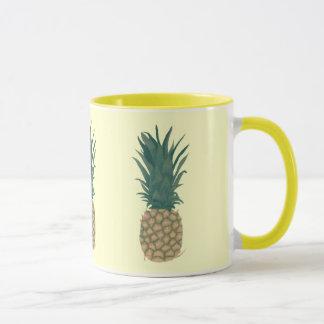 Painting of a fresh pineapple by CherylsArt Mugs