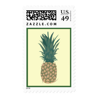 Painting of a fresh pineapple by CherylsArt Stamps