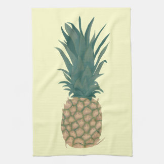 Painting of a fresh Pineapple Kitchen Towels
