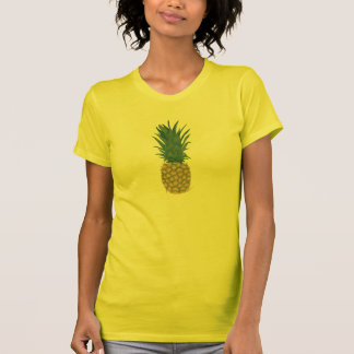 Painting of a fresh Pineapple printed on Tshirts