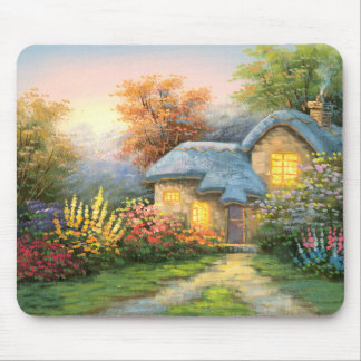 Painting Of A Private Cottage Mouse Pad