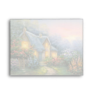 Painting Of A Rustic Fantasy Cottage Envelopes