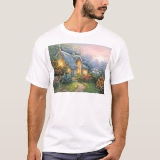 Painting Of A Rustic Fantasy Cottage T-Shirt