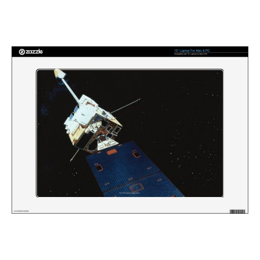 Painting of a Weather Satellite Decal For Laptop