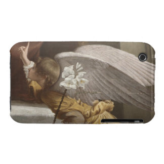 Painting of an angel pointing iPhone 3 Case-Mate case