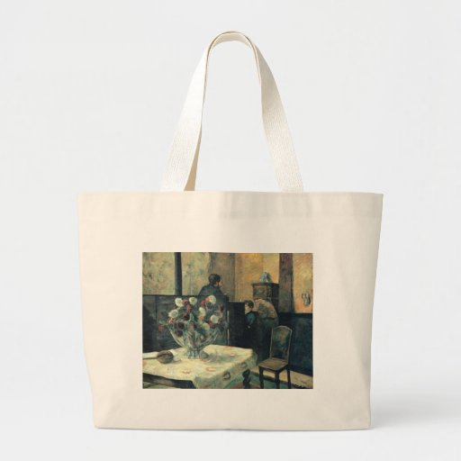 Painting of an Interior at Rue Carcel - 1881 Canvas Bags
