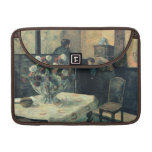 Painting of an Interior at Rue Carcel - 1881 MacBook Pro Sleeves