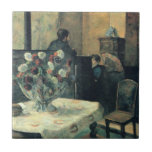 Painting of an Interior at Rue Carcel - 1881 Tile