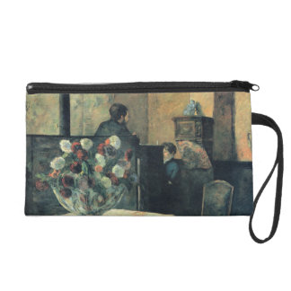 Painting of an Interior at Rue Carcel - 1881 Wristlet