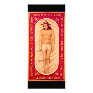 Painting of Christ Rack Card