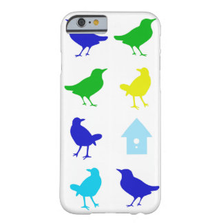 Painting of Colored Birds by Chariklia Zarris Barely There iPhone 6 Case