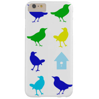 Painting of Colored Birds by Chariklia Zarris Barely There iPhone 6 Plus Case