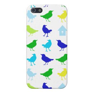 Painting of Colored Birds by Chariklia Zarris Case For iPhone SE/5/5s