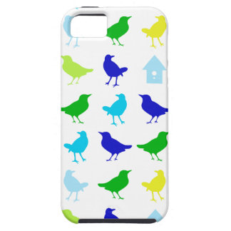 Painting of Colored Birds by Chariklia Zarris iPhone SE/5/5s Case