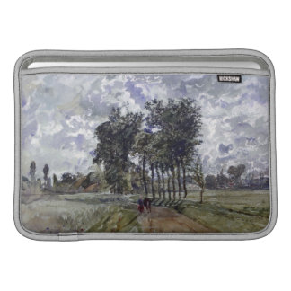 Painting of Countryside MacBook Sleeves