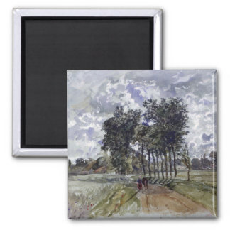Painting of Countryside Magnet