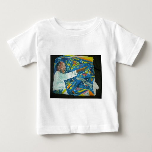 Painting of M L King by Hart Baby T-Shirt