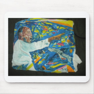Painting of M L King by Hart Mouse Pad