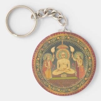 Painting of Mahavira Keychain