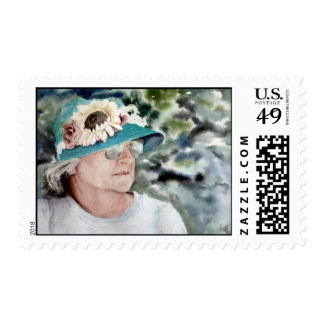 Painting of Mom Postage