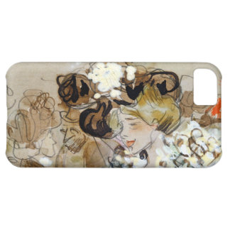 """Painting of Ramon Houses """"Celebrations in Toulon """" iPhone 5C Case"""