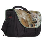 """Painting of Ramon Houses """"Celebrations in Toulon """" Laptop Commuter Bag"""