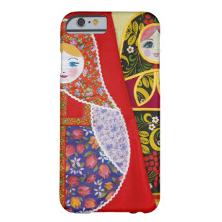 Painting of Russian Matryoshka doll Barely There iPhone 6 Case