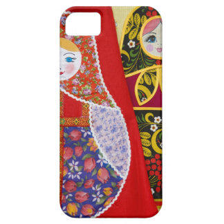 Painting of Russian Matryoshka doll iPhone SE/5/5s Case