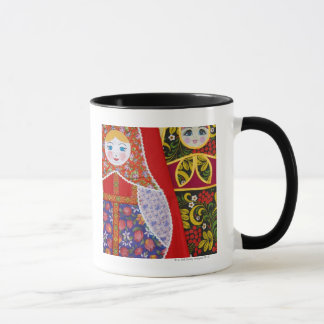 Painting of Russian Matryoshka doll Mug