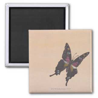 Painting of swallowtail butterfly magnets