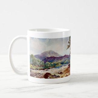painting of the river Teith Scotland Classic White Coffee Mug