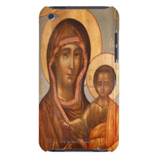 Painting of the Virgin Mary with Jesus Christ Case-Mate iPod Touch Case
