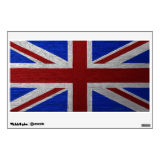 Painting of Union Jack Room Decal