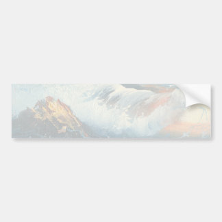 Painting Of Waves At A Beach Bumper Sticker