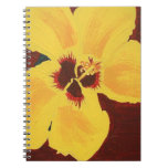 Painting of Yellow Hawaiian Hibiscus Notebook