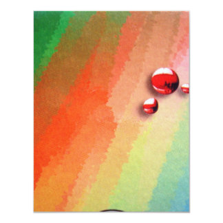 painting of you vary colors card