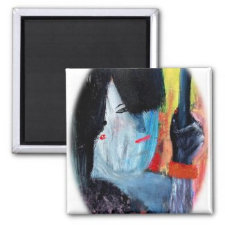 Painting On A Magnet